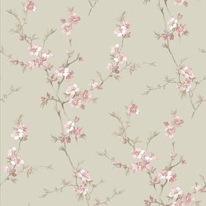 Cherry Blossom Pink Trail Wallpaper