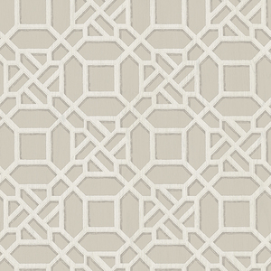 Adlington Grey Geometric Wallpaper