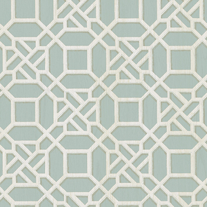 Adlington Turquoise Geometric Wallpaper