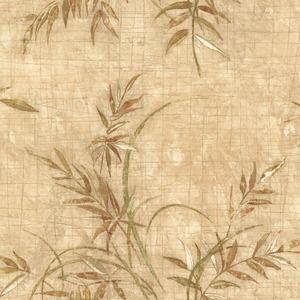 Kazumi Taupe Bamboo Texture Wallpaper