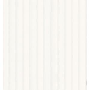 Beadboard Brown Wood Panel Paintable Wallpaper
