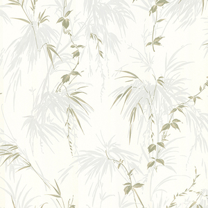Zumi Blue Palm Leaves Wallpaper