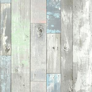 Ashwile Blue Wood Wallpaper