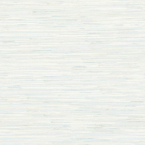 Natalie Light Blue Faux Grasscloth Wallpaper