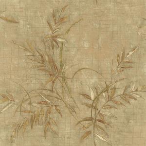 Kazumi Olive Bamboo Texture Wallpaper