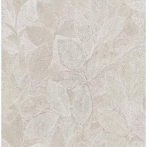 Niabi Pink Leaves Wallpaper