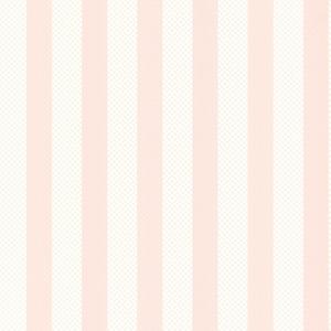 Ditsy Pink Trellis Stripe Wallpaper
