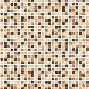 Harbor Brown Sea Glass Tiles Wallpaper