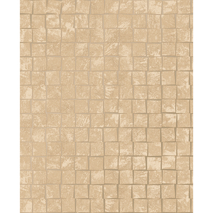 Dagmar Gold Medium Squares Wallpaper
