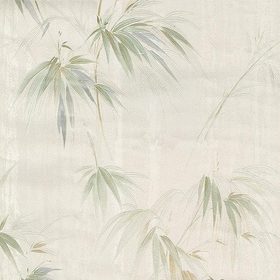 Atlis Beige Bamboo Wallpaper