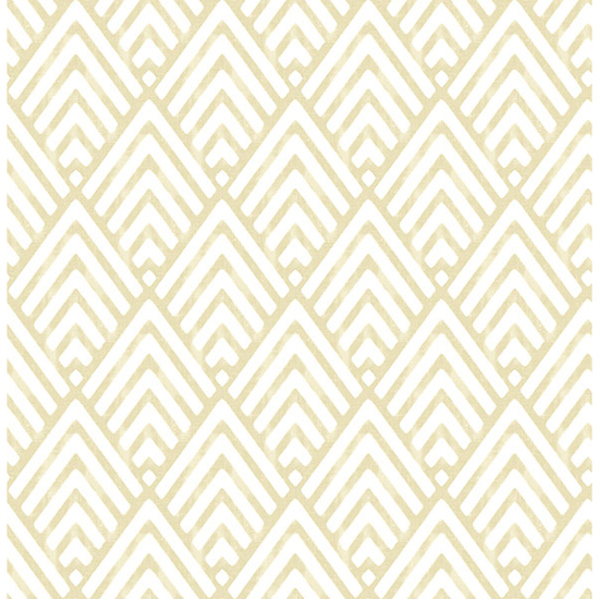 Vertex Gold Diamond Geometric Wallpaper