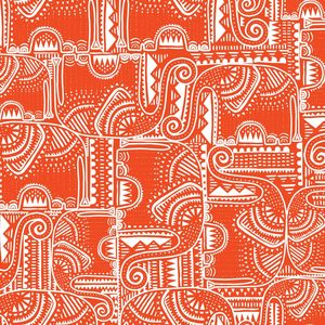 Elephant Folk Red