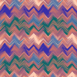 Painterly Chevron