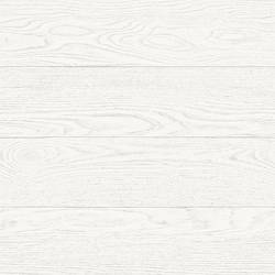 Salvaged Wood White Plank Wallpaper