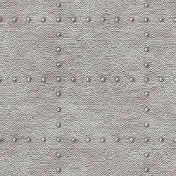 Otto Silver Hammered Metal Wallpaper