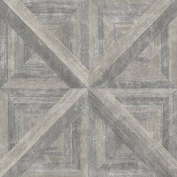 Carriage House Taupe Wood Wallpaper