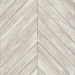 Parisian Dove Parquet Wallpaper