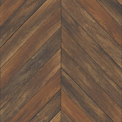 Parisian Chestnut Parquet Wallpaper