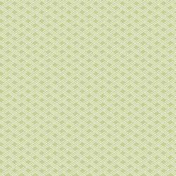 Sweetgrass Green Lattice Wallpaper