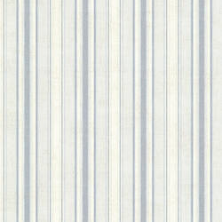 Ellsworth Denim Sunny Stripe Wallpaper