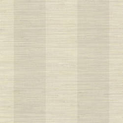 Oakland Taupe Grasscloth Stripe Wallpaper