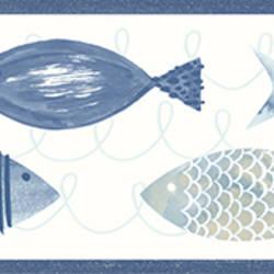 Key West Blue Fish Border