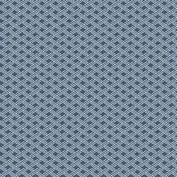 Sweetgrass Navy Trellis Wallpaper