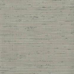 Alan Grey Horizontal Slub Wallpaper