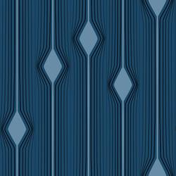 Diamond Stripe, Blue