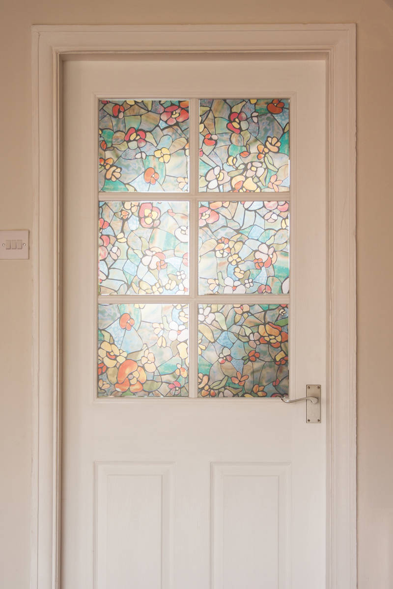 Stained Glass Translucent Window Film Designyourwall
